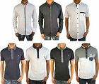 Mens Designer Swade Jeans Shirts Latest Casual Smart Collared Top Jersey T Shirt