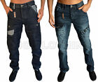 NEW MENS DESIGNER ETO JEANS TWISTED LEG TAPERED FIT DENIM LATEST IN 2 STYLES
