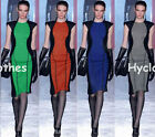 Celeb New Style Colorblock Women Business bodycon Evening Party Summer Dress 721