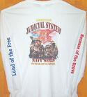 NAVY SEALS White Long Sleeve T Shirt Sz Sm - 5XL  Saluting Our American Heroes !