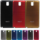 Brushed Aluminum Battery Cover Case For Galaxy Note 3 III Sprint AT&T Verizon