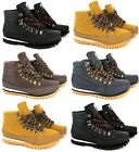MENS WINTER WALKING HIKING BOOTS TRAINERS WORK SHOES GENTS BOYS ANKLE SHOES