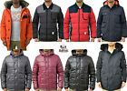 Mens Designer Bellfield Variety Jackets Padded Puffer Bomber Parka Long Fur Coat