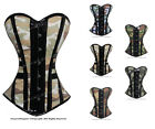 #H9062 Full Steel Boned Camouflage Camo Overbust Shaper Corset