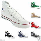 MENS WOMENS CONVERSE ALL STAR HI TOPS CHUCK TAYLOR SHOES TRAINERS SIZE UK 3-11