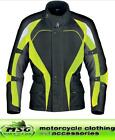 RICHA VISION CHILDS WATERPROOF MOTORCYCLE JACKET BLACK & YELLOW ALL SIZES