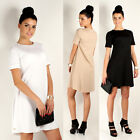 NEW ☼ Classic Women's Mini Dress ☼ Crew Neck Tunic Style Sizes 8 -14 FA236