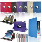 SLIM LEATHER 360 DEGREE ROTATING CASE COVER STAND FOR iPAD 5 iPAD AIR CASE 2013