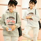 Fashion Pullover Women English Letters Hoodies Outwear Sweats Winter Tops Casual