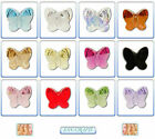 2pcs Swarovski Crystal Beads 5754 Butterfly 8mm * Many Colours *