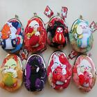 Cute Japanese Crepe Kimono Brocade Chirimen Fabric Wallet Coin Purse