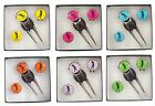Pitch Repairer,  Hat Clip and Lady Golfer Ball Marker Gift Set