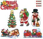 CHRISTMAS WINDOW WALL DECORATION LED LIGHT SILHOUETTE FAIRY BATTERY OPERATED