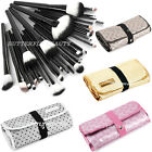 32PCS Makeup Brush Comestic Kit Concealer Eyeshadow Lip Foundation Case Tool Set