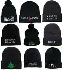 Hip Hop Men's WASTED Beanies Hat Fashion Winter Cotton knit cap wool Hats SJ5