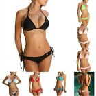 Sexy Women's Padded Push Up 2 Pcs Swimwear Swimsuit Set Bathing Sun Beach Bikini
