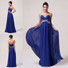 2014 NEW Stock Lady Long Formal Evening Gown Bridesmaid Prom Wedding Party Dress