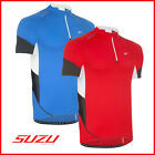 SUZU PRO SMT Cycling Bicycle Bike Jersey Top Shirt Short Sleeve Half Zip