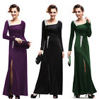 Long Sleeve Ladies Cocktail Party Evening Dress 09736 UK Size 6 8 10 12 14 16 18