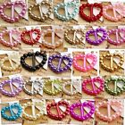Pearl Heart Buckle/Ribbon Slider Scrapbooking Card Making Wholesale