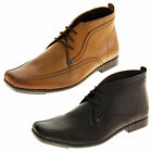 MENS LEATHER BASE LONDON WORK SHOES FORMAL ANKLE WEDDING SHOE BOOTS SZ SIZE 6-12