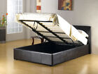 STORAGE GASLIFT BLACK BROWN Single3ft Small Double 4ft Double 4ft6 King size 5ft