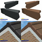 DRY VERGE COMPLETE SYSTEM KIT MANTHORPE GABLE END ROOF EDGE PROTECTION CAPS