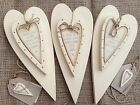Double Hanging Heart Plaque / Sign / Wall Decoration / Gift - By East of  India