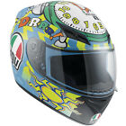 Agv K3 Rossi Wake Up  Motorcycle Motorbike Helmet       DH Autos