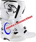 2014 ALPINE STARS  TECH 7 WHITE  MX  BOOTS + FREE FRO SOCKS & FREE DELIVERY