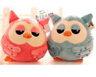 cartoon heirs owl plush toy cushion hand warmer blanket lover roumang gift 1pc