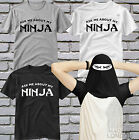 Ask Me About My Ninja T Shirt Funny Flip Up Tee Ask Me About My T-Rex Top