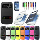 Flip Battery Back Cover Case For Samsung Galaxy S3 Mini i8190 S3 i9300 Note 2
