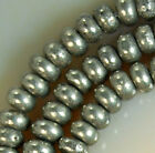 2x4mm Natural Pyrite Rondelle Beads 15.5""