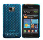 New Design Silicone gel Diamond Case for Samsung Galaxy S2 i9100