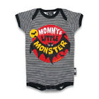 Six Bunnies Short Sleeved Babygrow - Mommys Little Monster