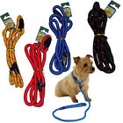 NYLON PET DOG PUPPY WALKING SLIP LEAD COLLAR ROPE STRAP STRONG TRAINING LEASH