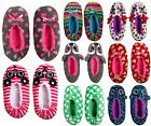 NWT Justice Girls Plush Ballet Style Critter Slippers Assorted U Pick Size NEW