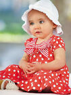 Newborn Baby Girls Red Dot 2pcs Ruffle Top + Pant Set Outfit Clothes 0-24 months