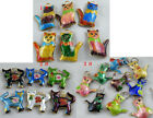 20pcs Cloisonne Enamel Cat Charms 3# O67