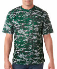 Badger Adult New Self Fabric Collar Polyester Digital Camo Sport T-Shirt. 4180