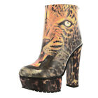 IRON FIST LADIES DON'T PUSSY FOOT BOOTIE SHOES  (R8C)