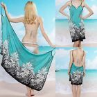 Women's Sexy Floral Bikini Swim Suit Bathing Suits Swimwear Cover Up Beach Dress