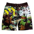 NINJA TURTLES TMNT UV-50 Bathing Suit Swim Trunks NWT Boys/Youth Sizes 4-12  $25