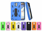 Rugged Hard Skin With Stand Phone Case Cover for Samsung Galaxy Note 3 III N9000