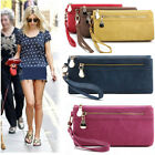Women Wallet Wristlet Lady Card Coin Holder Long Wallet Clutch Zipper Purse Gift