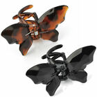 Butterfly Hair Claw Clip Clamp Accessory - 9cm - Black or Brown