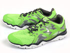 Under Armour UA Micro G Monza Sports Running Shoes Green/Anthracite 1238581-389