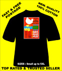 Tee Shirt New Unisex legendary music festival WOODSTOCK quality cotton t shirt