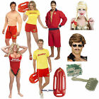 Baywatch Mens Ladies Girls 90s Lifeguard Fancy Dress Anita Waxin Float Wig Can